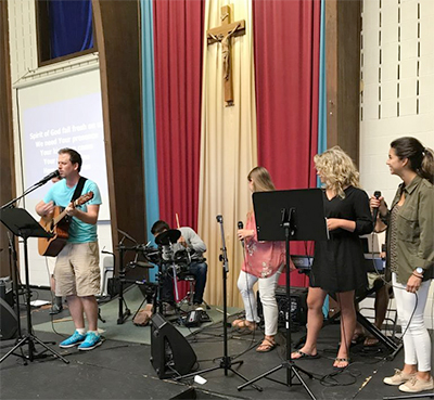 Mother of God church band