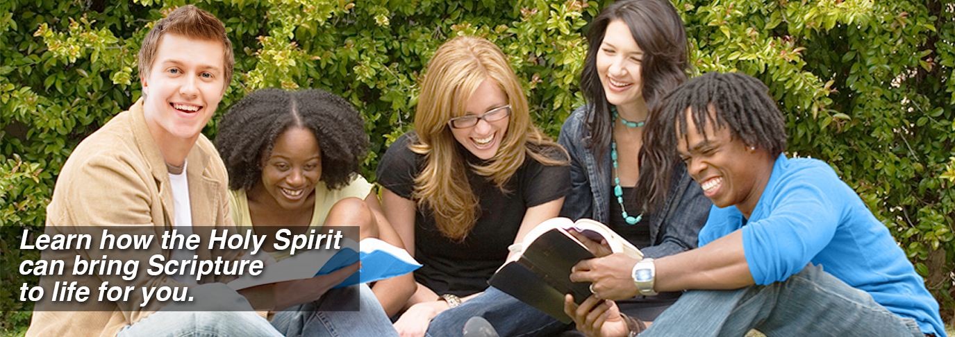 Learn how the Holy Spirit can bring Scripture to life for you.